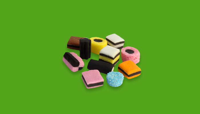 Variety of different sweets